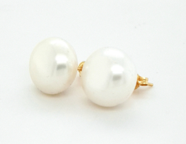 Cataleya Earrings Pearl bouton 12,5mm