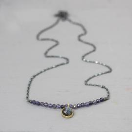 Jeh Jewels collier zilver met labradoriet