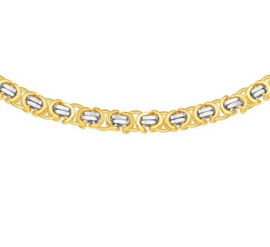 Collier plat konings 7 mm 50 cm