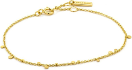 Ania Haie Armband AH B005-02G - Zilver Goldplated