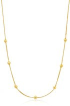 Ania Haie Collier AH N002-03G - Zilver Goldplated