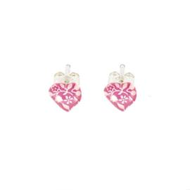 Zilveren Earrings Heart