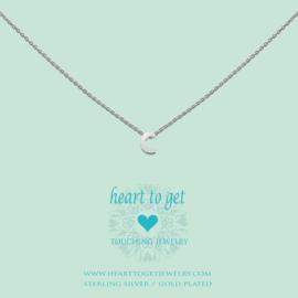 Heart to Get - Hanger C - Zilverkleurig