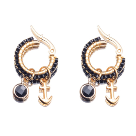 By Melz Petit Emma  Earring black