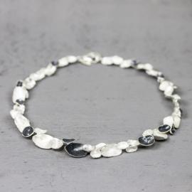 Jeh Jewels 19885 - Collier zilver oxy schelpen