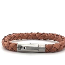 Zero Jewels - Amsterdam - armband -lichtbruin