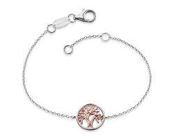Engelsrufer - levensboom -Armband - Gold Plated Sterling Zilver