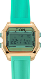 I AM THE WATCH - Horloge - 40mm - Rosé/Groen - IAM-KIT01
