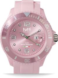 Tutti Milano TM001PI- Horloge - 48 mm - Roze - Collectie Pigmento