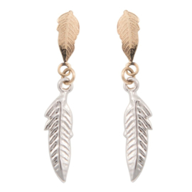 Cataleya Earrings Feather