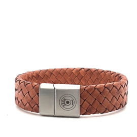 Zero Jewels - Rotterdam - armband - bruin