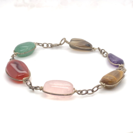 Occasion chakra armband met edelstenen
