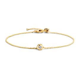 Blush Armband 2167YZI - Geelgoud met Zirconia