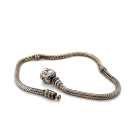 Occasion zilveren Pandora armband 20cm