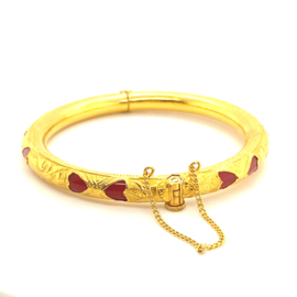 Occasion Indiase 24k gouden bangle armband
