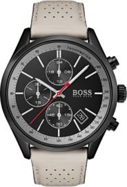 Hugo Boss HB1513562 horloge heren - beige - edelstaal PVD zwart