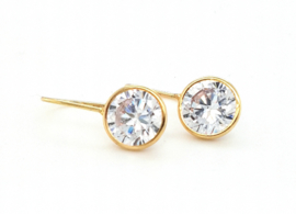 Cataleya Earrings Crystal