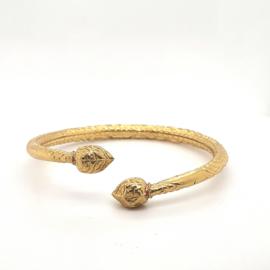 Geelgouden surinaamse armband