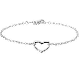 Armband hart 2,0 mm 17 + 2 cm