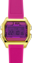 I AM THE WATCH - Horloge - 40mm - Goudkleurig/roze - IAM-KIT15