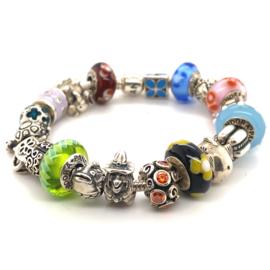 Occasion Pandora armband met 20 bedels