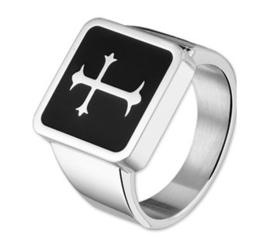 Heren Zegelring kruis