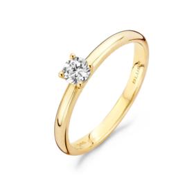 Blush Ring 1133YZI - Geel Goud met Zirconia