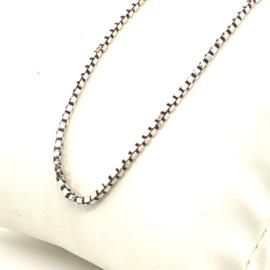Occasion zilveren venetiaanse ketting 38cm
