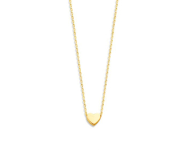 Just Franky Capital Necklace Heart