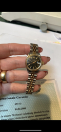 Rolex date Just staal goud