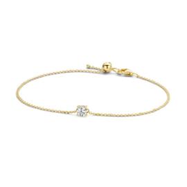 Blush Armband 2166YZI - Geelgoud met Zirconia