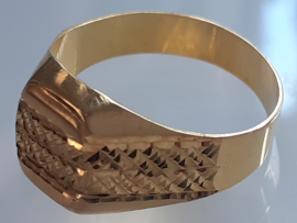 occasion zegelring 14kt