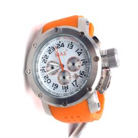 Max XL Watches polshorloge oranje