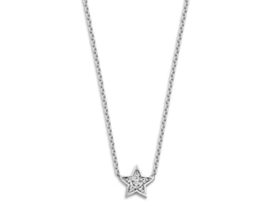 Just Franky Just Diamond Necklace Star