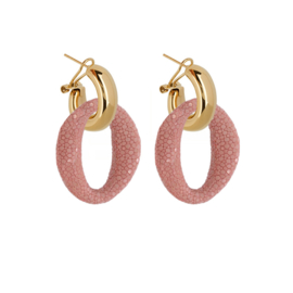 AMJOYA Earrings Ibiza Pink