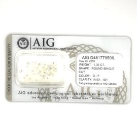 Diamanten van 1.00 - 2.00 karaat