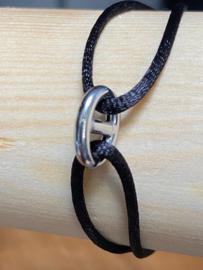 Zilver rho./ru/ny/le armbanden dames en heren poli/fantasie