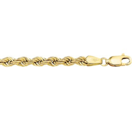 Armband koord 4,4 mm 18 cm