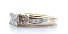 Occasion 14 karaat Goud - Ring Diamant