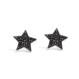 Earring Black Star