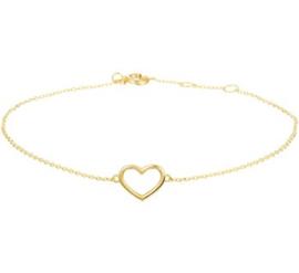 Armband hart 0,8 mm 16 - 17 - 18 cm