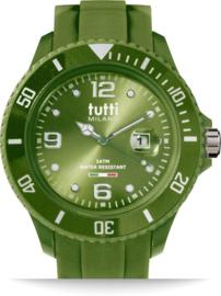 Tutti Milano TM001AG - Horloge - 48 mm - Armygroen - Collectie Pigmento