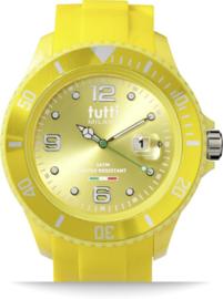 Tutti Milano TM001YE - Horloge - Kunststof - Geel -48MM