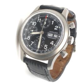 Vintage Hamilton herenpols horloge