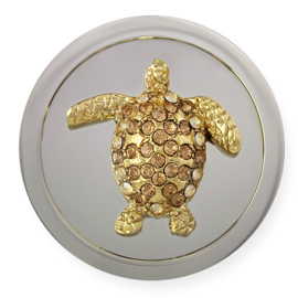 Mi Moneda 3D Atlantis Tortuga champagne