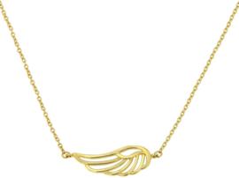 Cataleya Jewels ketting vleugel 14kt