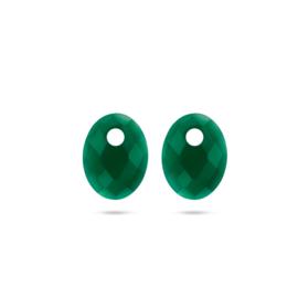 Blush Oorbedel 810GAGO - Green Agate