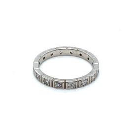 Occasion witgouden ring met rondom 16 diamanten 0.48ct
