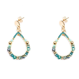 By Melz Isabella  Earring turkoois