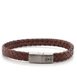 Zero Jewels - Beiroet - armband - lichtbruin